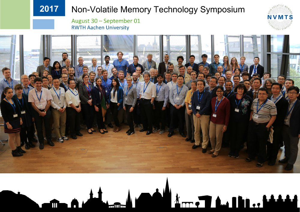 NVMTS 2017 Group Photo Copyright I. Institute of Physics, RWTH Aachen University